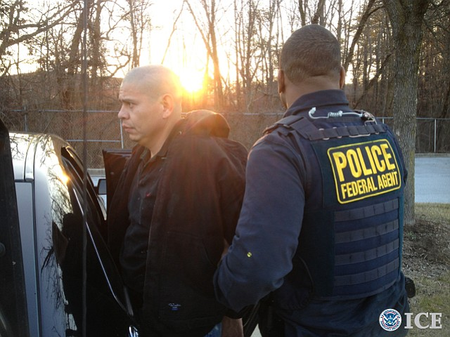 Santos Guevara-Oliva arrested by ICE agents in Maryland
