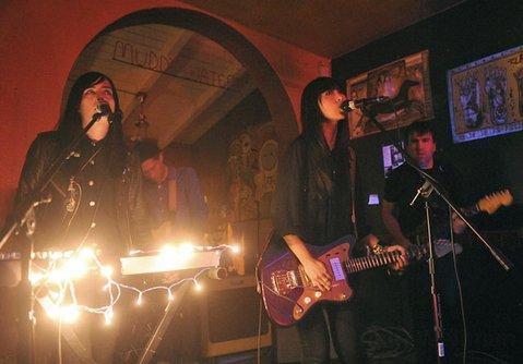 SISU's Jules Medeiros (left) and Sandra Vu at Muddy Waters Cafe.