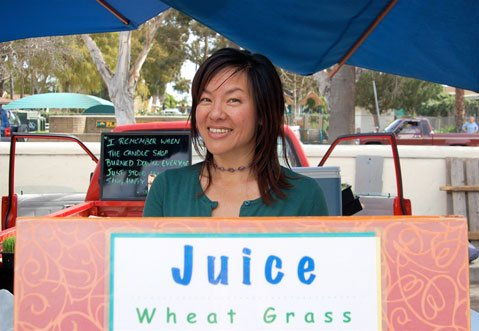 Naomi Takawa of S.B. Sprouts