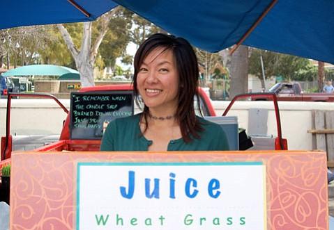Naomi Takawa of S.B. Sprouts