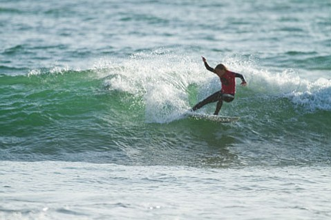 Demi Boelsterli slashes her way to a record 9th Rincon Classic title in the Womens Division Sunday afternoon.