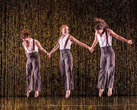 """DANCEWORKS SB - Keigwin Co """"Girls""""  3/1/13 Lobero Theatre"""