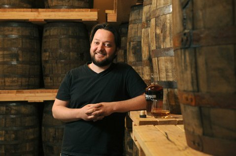 Steve Gertman, president and master distiller at the new Ascendant Spirits.