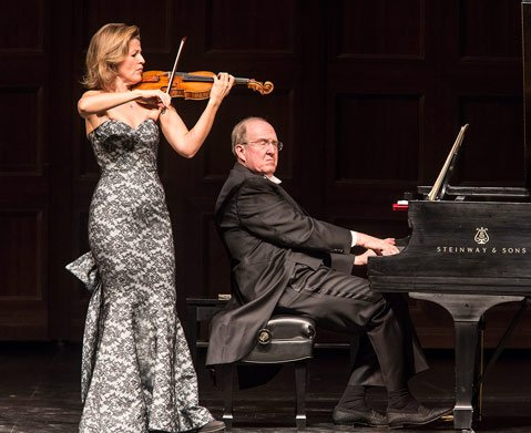 Anne-Sophie Mutter at the Granada Theatre