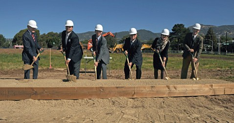Groundbreaking ceremony on Tuesday, March 12.
