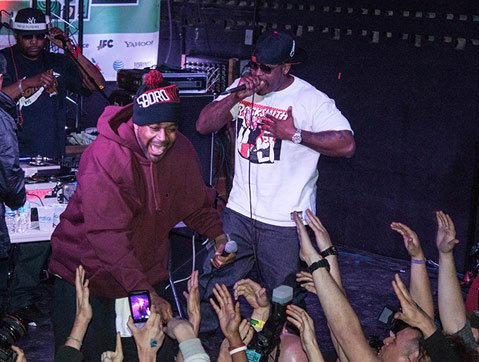 Wutang's Ghostface Killah and Sheek Louch from The Lox