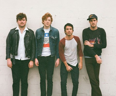 FIDLAR is (from left) Max Kuehn, Elvis Kuehn, Zac Carper, and Brandon Schwartzel.