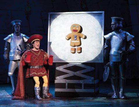 The musical version of Dreamworks' <em>Shrek</em> is full of new stage magic.