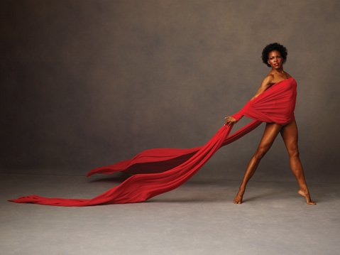 <b>BOW, FLEX:</b>  Alvin Ailey American Dance Theater dancer Briana Reed strikes a pose.