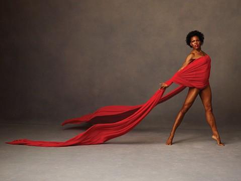 <b>BOW, FLEX:</b>  Alvin Ailey American Dance Theater dancer Briana Reed strikes a pose.