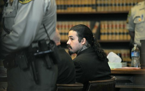 Adrian Robles sentenced to life without the possibility of parole for the 2010 murder of Robert Simpson.