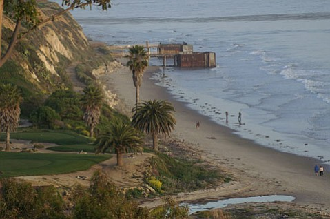 There's real worry that dangerous pressure is building under these two aged piers—the former site of oil drilling—off Goleta's coast right next to the Sandpiper Golf Course.
