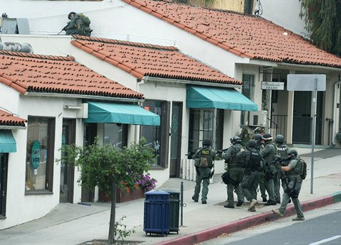 Santa Barbara SWAT team searches Far West Gun