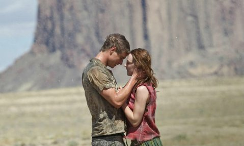 Max Iron and Saoirse Ronan star in <em>The Host</em>.