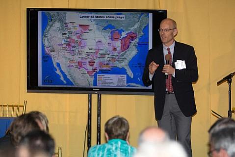 Professor Anthony Kovscek with Standford University's Department of Energy Resources Engineering