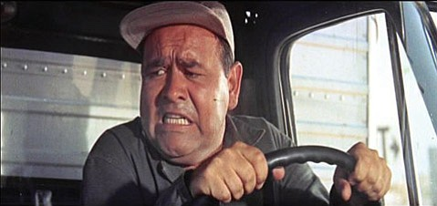 Jonathan Winters played a wacky character in <i>It's a Mad, Mad, Mad, Mad World</i>.