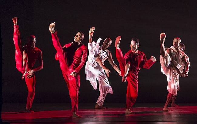 "Alvin Ailey American Dance Theater performs ""Grace."""