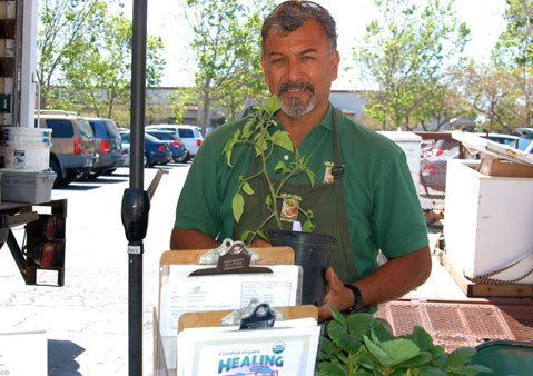 Oscar Carmona of Healing Grounds Nursery