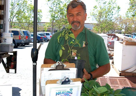 Oscar Carmona of Healing Grounds Nursery
