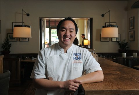 Chef James Siao welcomes residents to the reconceived Finch & Fork, in Canary Hotel.