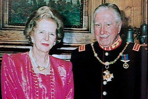 Margaret Thatcher and Augusto Pinochet