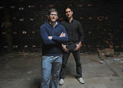 Eric Railsback and Brian McClintic