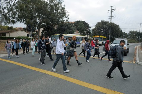 <b>MASS RIDERS: </b> Of the 8 million bus rides MTD gives a year, 1.2 million are taken by City College students. The problem is that the students pay far less ​— ​through their student fees ​— ​for their bus passes than other passengers, creating a financial strain on the system.