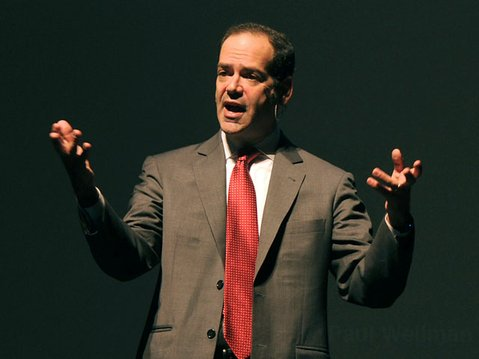 Neil Barofsky speaks at this year's Economic Summit at the Granada Theater