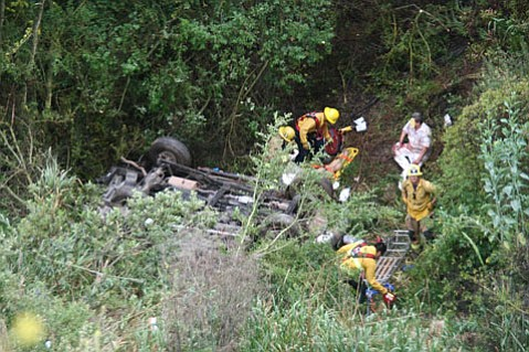Highway 154 vehicle accident on May 6