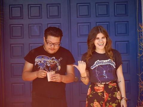 Bobb Bruno and Bethany Cosentino