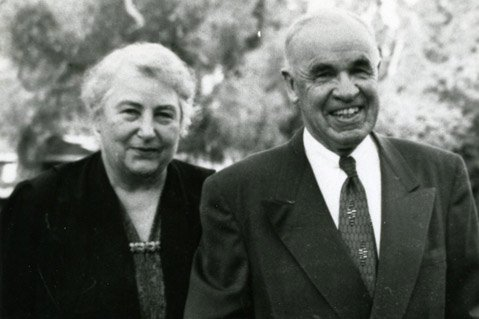 Barbara and Elmer Whittaker