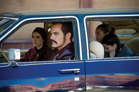 <b>THE ICEMAN COMETH:</b>  Michael Shannon plays a hit man hiding his profession from his family in the real-life story <i>The Iceman</i>.