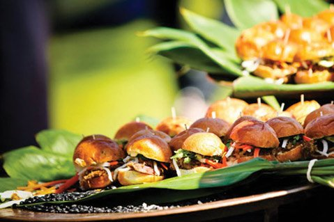 <b>FOOD WITH BENEFITS:</b> These causes are so good you deserve two sliders!