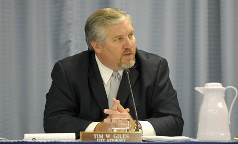 <b>BIG BUCKS:</b>  Goleta City Attorney Tim Giles is fighting Sacramento more than $18 million in withheld funds.