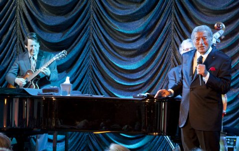 Tony Bennett performed an intimate concert at the Monecito Country Club to benefit UCSB's Arts & Lectures.