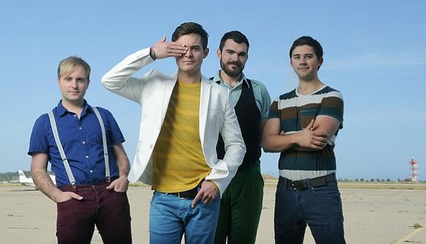 UP, UP, AND AWAY: This week, Santa Barbara's Tommy & The High Pilots (from left: Matt Palermo, Tommy Cantillon, Steve Libby, and Michael Cantillon) released <em>Only Human</em>, the band's third and most polished record to date. They'll celebrate with a hometown album-release show at SOhO Restaurant & Music Club this Friday.