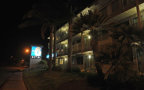 <b>HARD LIVING:</b>  There were 302 calls to law-enforcement dispatchers from the Motel 6 on Via Real in Carpinteria 