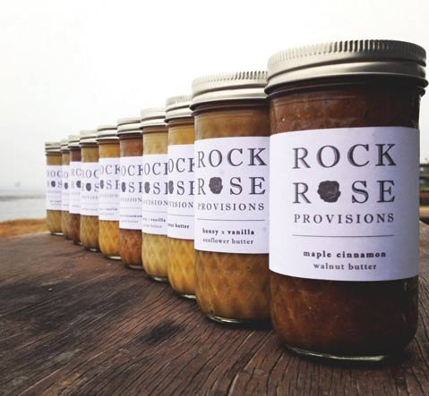 <b>NICE SPREAD:</b> Ryden produces a varietyof Rock Rose Provisions nut butters.