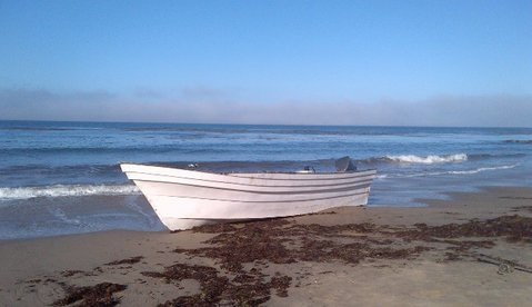 Panga boat discovered on Tajiguas Beach