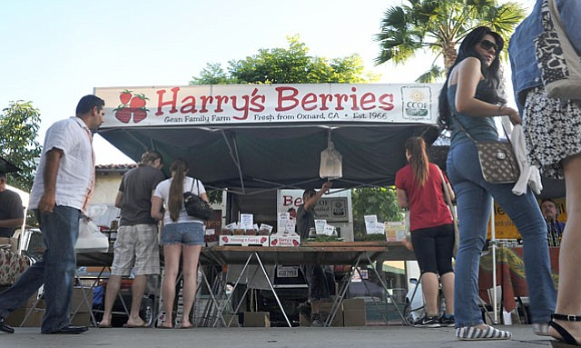 <b>A BERRY STICKY SITUATION:</b>  The owner of Oxnard-based Harry's Berries, Molly Gean, is the President of the Farmers Market board. She is accused of squeezing out smaller, more local family farms for the sake of profit.