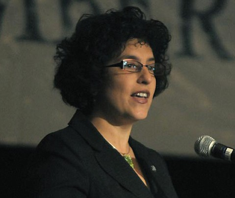 <b>NEVER INDICTED:</b>  While other cities can boast of electing criminals to public office, we have to make do with nice civic leaders, like Mayor Helene Schneider.