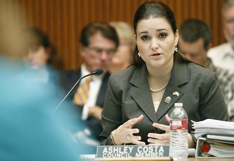 Lomcoc City Councilmember Ashley Costa (05/03/11)