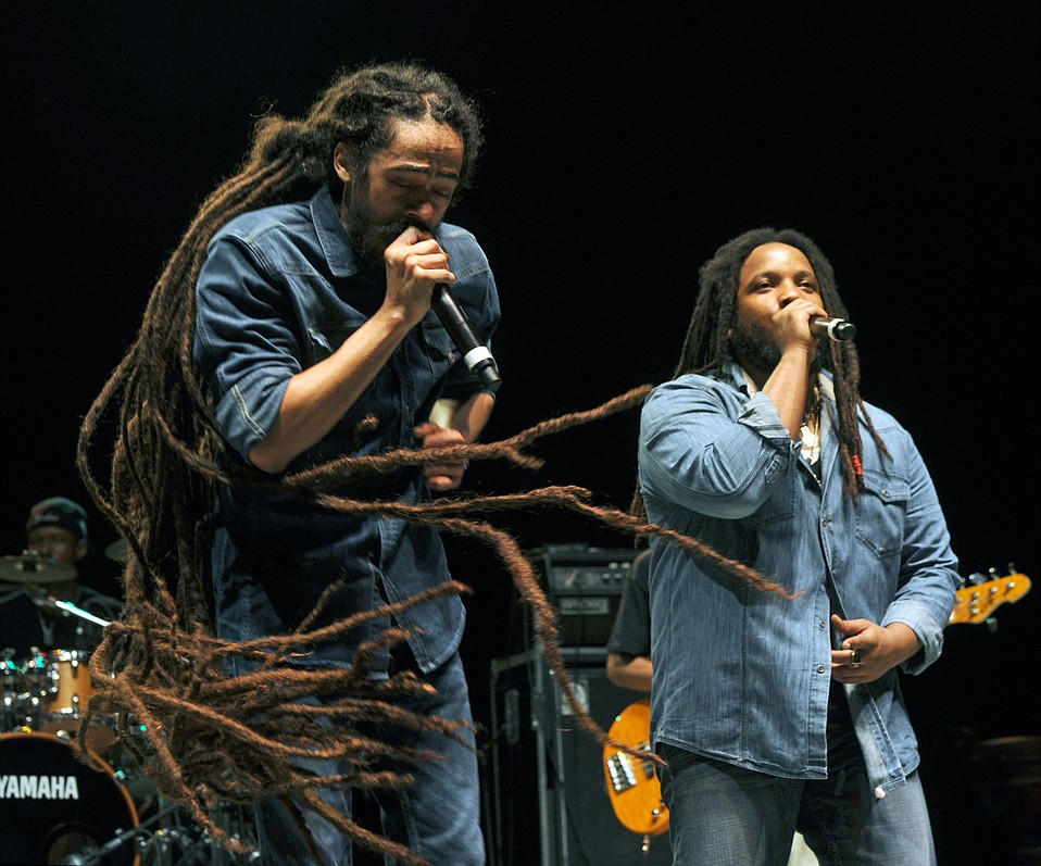 Damian and Stephen Marley