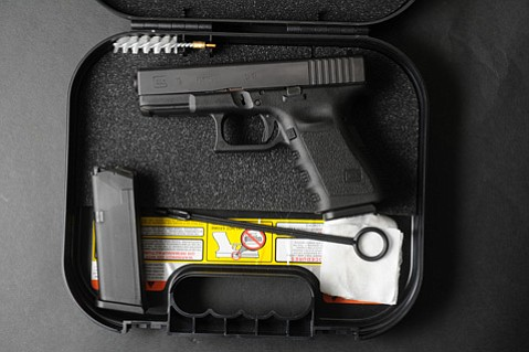 <b>GOODIES:</b>  A brand-new Glock comes with two 10-round magazines, an instruction manual, cleaning supplies, and a couple of spent shell casings to show it has been test-fired by the manufacturer.