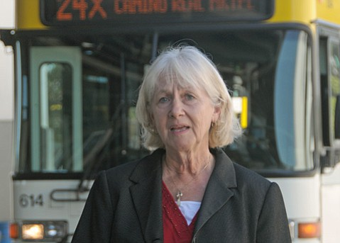 <b>HEADS UP:</b>  MTD executive Sherrie Fisher painted a grim picture for bus riders should potential budget cuts become reality.