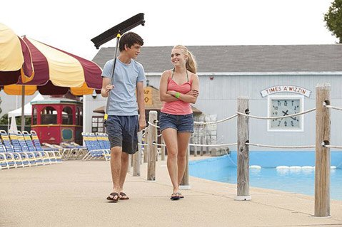 <b>SUMMER SPLASH:</b>  Liam James and AnnaSophia Robb star in the nuanced feel-good summer hit <i>The Way Way Back</i>.