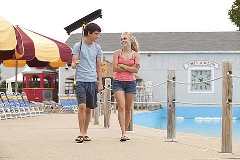 <b>SUMMER SPLASH:</b>  Liam James and AnnaSophia Robb star in the nuanced feel-good summer hit <i>The Way Way Back</i>.