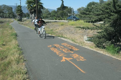 Storke Road Bike Path