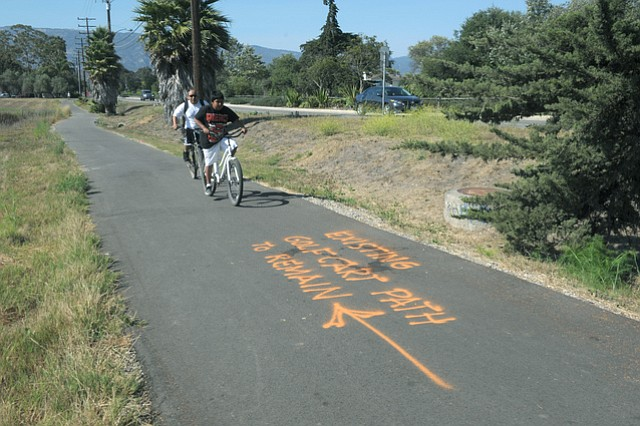 Storke Road Bike Path