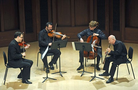 <i>Phantasy Quartet, Op. 2</i> (1913-1976) David Weiss oboe, Brian Lewis violin, Roger Myers viola, Joshua Roman cello.